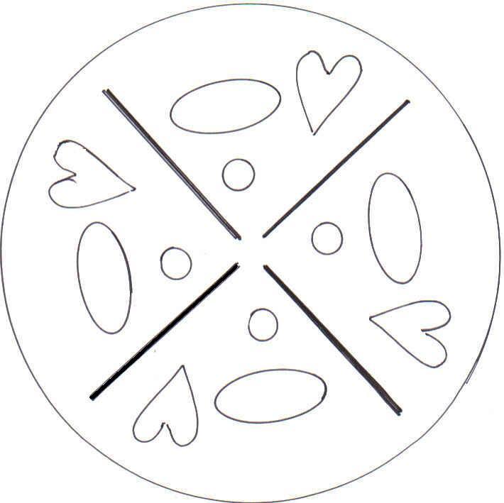 kostenlose Mandalas für Kinder zum Ausdrucken