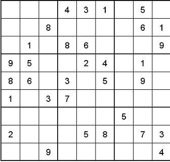 Sudoku leicht bis mittel PDF zum Ausdrucken