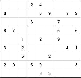 Schweres Sudoku Online